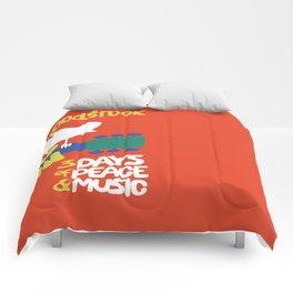 Woodstock 1969 Comforters