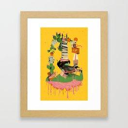 SURREAL KNOWLEDGE Framed Art Print