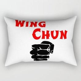 wing chun fist Rectangular Pillow