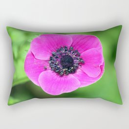 Pink Poppy Rectangular Pillow