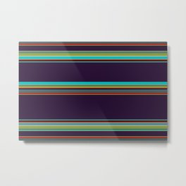 I'm calling this one…Micheal Stripe. Metal Print