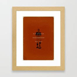 Middlesbrough - Mannion Framed Art Print
