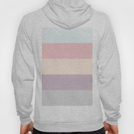 easter spring pastel color eggshell blue dusty rose blush pink stripe Hoody