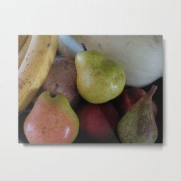Fruit Bowl 2 Metal Print