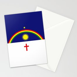 flag of Pernambuco Stationery Cards