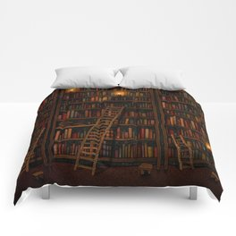 Night library Comforters