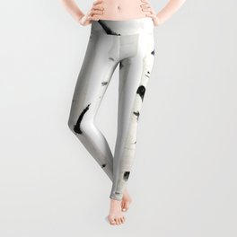 birch  watercolor Leggings