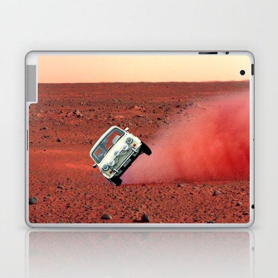 first wheelie on mars Laptop & iPad Skin