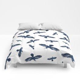 Soaring Ravens Pattern. Comforters