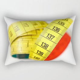 Measuring tape Rectangular Pillow