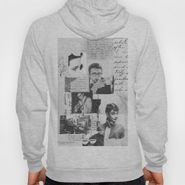 Creative Portrait Collage of 1950's Icons Hoody