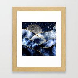 Full moon II Framed Art Print