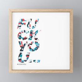 FU Framed Mini Art Print