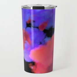 Neon Clouds Travel Mug