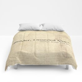 Reader I Married Him, Jane Eyre Conclusion Quote Comforters