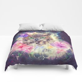 Space Owl with Spice Comforters