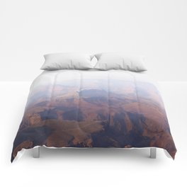 Smoky Hazy Days in the Grand Canyon Comforters