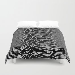 Joy Division - Unknown Pleasures Duvet Cover