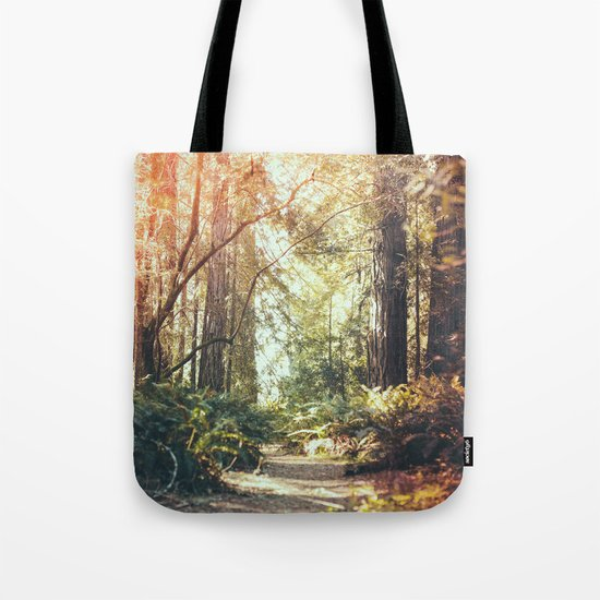 Beautiful California Redwoods Tote Bag