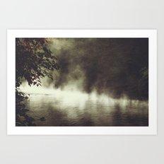 a place beyond - river scene Art Print