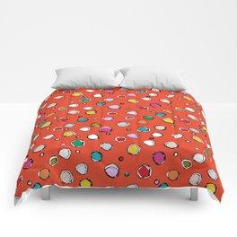 wilderdot cadmium Comforters