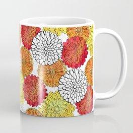 Dahlia Garden Summer Coffee Mug