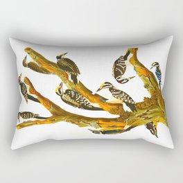 Maria's Woodpecker, Three-toed Woodpecker, Phillips' Woodpecker, Canadian Woodpecker, Harris's Woodp Rectangular Pillow