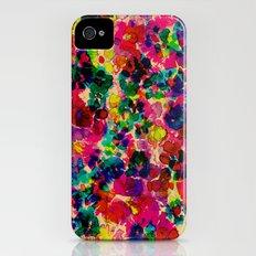 Floral Explosion iPhone (4, 4s) Slim Case