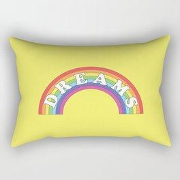 Rainbow Dreams Rectangular Pillow