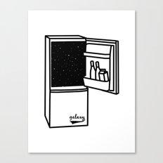 Space Refrigerator  Canvas Print