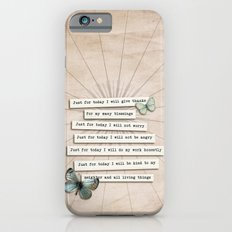 Reiki Principles No.2 Slim Case iPhone 6