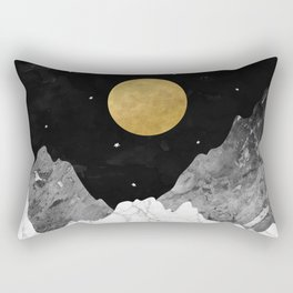 Moon and Stars Rectangular Pillow