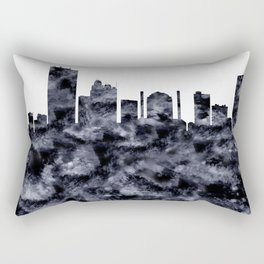 Toledo Skyline Ohio Rectangular Pillow