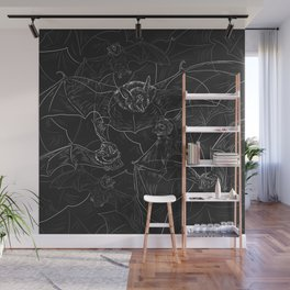 Bat Attack Wall Mural