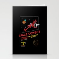 cowboy bebop Stationery Cards featuring NES Cowboy Bebop by IF ONLY