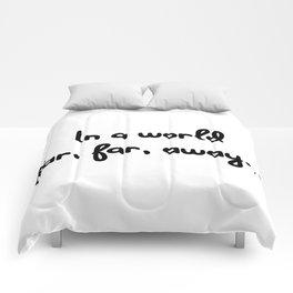 In a world far, far, away... Comforters