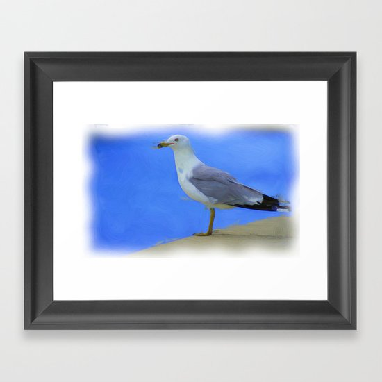Where to now ? Framed Art Print