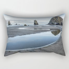 Haystack and the Needles Rectangular Pillow