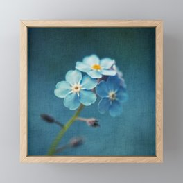 I'm Blue For You Framed Mini Art Print
