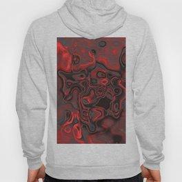 Red Dominant Gemstone Pattern Hoody