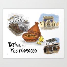 Tajine in Fes Morocco Art Print