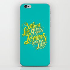 When Life Gives You Lemons... iPhone & iPod Skin