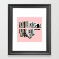 pink house!!! Framed Art Print