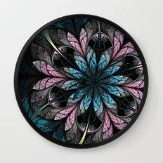 Flower III Wall Clock
