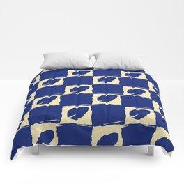 Leaf Blue Comforters