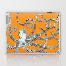 Orange Octopus Laptop & iPad Skin