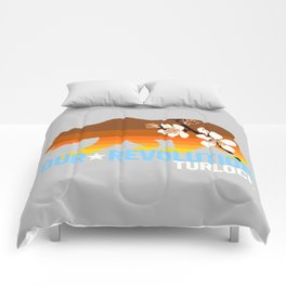 Our Revolution Turlock Comforters