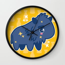 The Heaviest Sabre Wall Clock