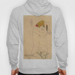 "Egon Schiele ""Two Women Embracing"" Hoody"