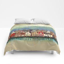 House, Bruges, Belgium Comforters